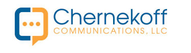 CHERNEKOFF COMMUNICATIONS Sticky Logo